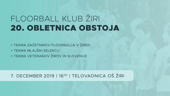 20-letnica floorball kluba Žiri