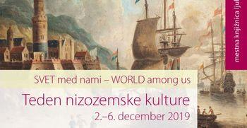 Teden nizozemske kulture v Mestni knjižnici Ljubljana