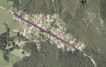 Krajanom Kočne predstavili projekt ureditve pločnika skozi naselje