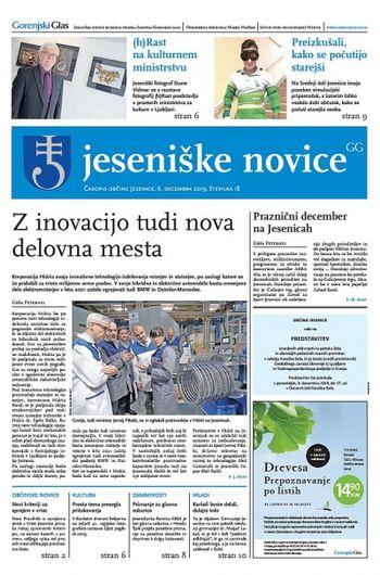 Jeseniške novice, 6. december 2019-18