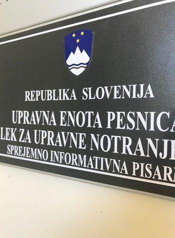 OBVESTILO UPRAVNE ENOTE PESNICA