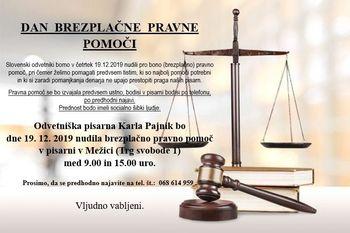 Dan brezplačne pravne pomoči