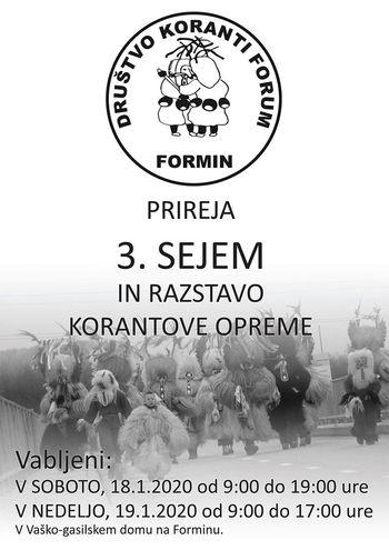 3. sejem in razstava Korantove opreme na Forminu