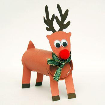 Ustvarjalna delavnica za otroke - Pokončni jelenček