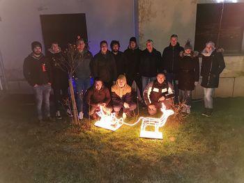 Mladinsko društvo Strehovci na polnočnici