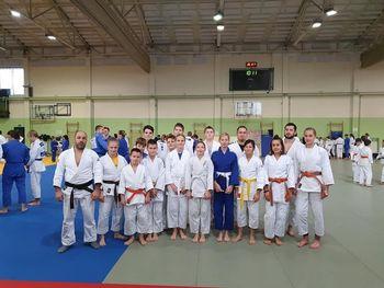 Judo klub Litija pred novim letom na pripravah v Radencih