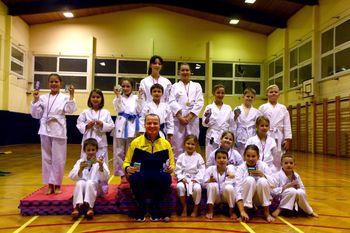 1. občinsko karate tekmovanje v Mirni Peči