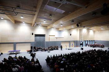 Novica o odprtju Športnega centra Luče