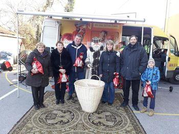 Obisk Dedka mraza v KS Škocjan
