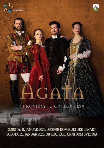 Pobeg v zgodovino čarovništva: AGATA (Čarovnica iz Črnega Lesa)