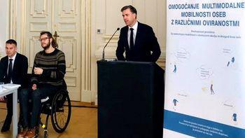Projekt za večjo mobilnosti ljudi z oviranostmi