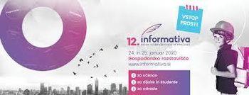 24. januarja obeležujemo mednarodni dan izobraževanja in pričetek največjega predinformativnega sejma izobraževanja in poklicev – 12. Informative!