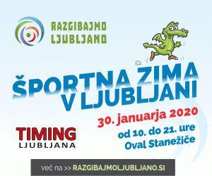 Športna zima v Ljubljani - nove informacije!
