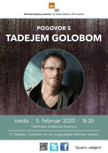 POGOVOR S TADEJEM GOLOBOM