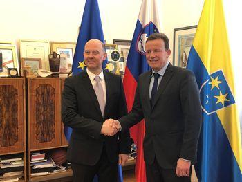 Celje je obiskal veleposlanik Ruske federacije v Sloveniji