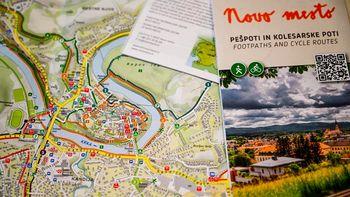 Odkrijte lepote mesta in okolice z novo karto kolesarskih, pohodniških in pešpoti