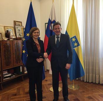 Obisk madžarske veleposlanice in profesorjev iz Dubrovnika