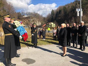 Spominska slovesnost ob 75-letnici frankolovskega zločina
