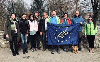 Projekt LIFE Amphicon: Na terenskem ogledu Krajinskega parka Radensko polje