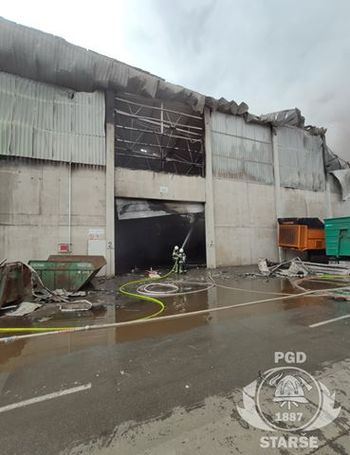 PGD Starše pri požarih v kompleksnih industrijskih objektih