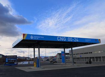 Prodaja okolju prijaznega goriva v celjski CNG polnilni postaji narašča