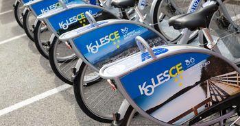 Zaščitni ukrepi tudi v javnem sistemu izposoje koles KolesCE