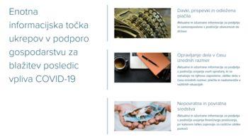 SPIRIT Slovenija vzpostavila informacijsko točko za podjetja za podporo gospodarstvu in blažitev posledic vpliva COVID-19