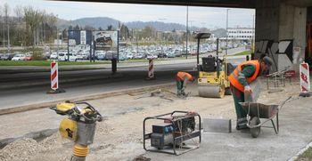 Na Letališki cesti najdena bomba že odstranjena