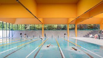 Izbrana arhitekturna zasnova za bazenski kompleks v Češči vasi