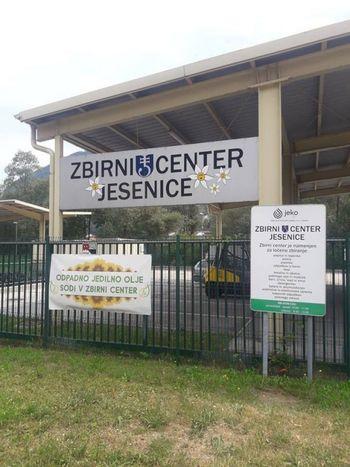 Z naslednjim tednom se ponovno odpira Zbirni center Jesenice