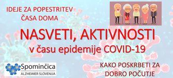 Pomoč pri demenci v času epidemije COVID-19