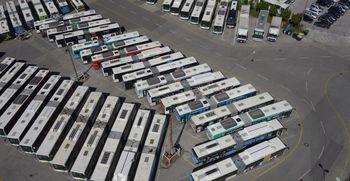 Mestni avtobusi ponovno zapeljali na ceste
