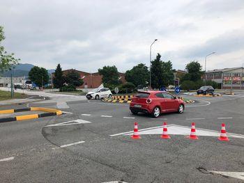 Na Cesti v Trnovlje smo izvedli začasno montažno krožišče