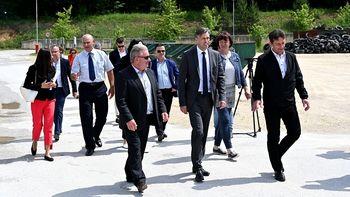 Minister Vizjak obljubil podporo pomembnim novomeškim projektom