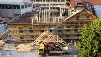 Obnova Ruardove graščine - potek del