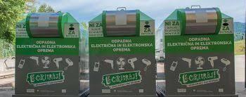 Zbiranje odpadne električne in elektronske opreme ter baterij
