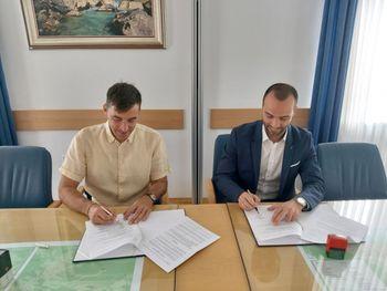 Podpisana pogodba za izgradnjo kanalizacije Lipce