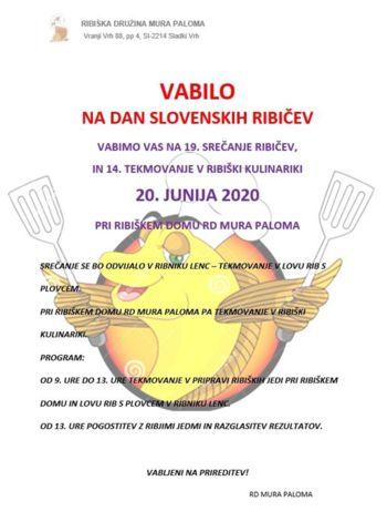 Dan slovenskih ribičev