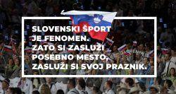 Slovenija je dobila nov praznik: dan slovenskega športa