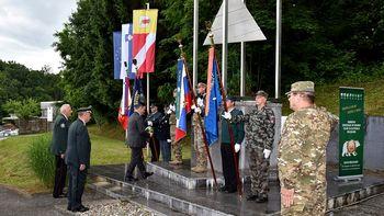 Obeležili spomin začetka osamosvojitvene vojne za Slovenijo