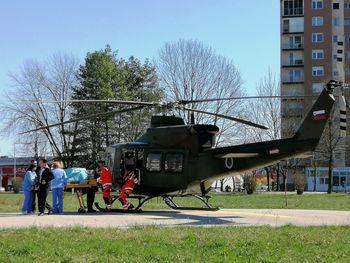 Helikopterji Slovenske vojske v prvi polovici leta poleteli na pomoč 282-krat, julija že petkrat