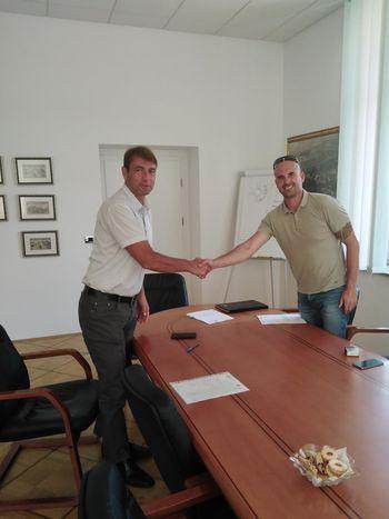 Podpis pogodbe o izgradnji Mrežnega inkubatorja Koroška-MPIK 3