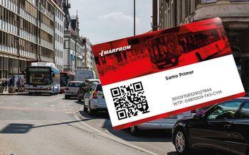 Brezplačna vozovnica javnega medkrajevnega potniškega prometa