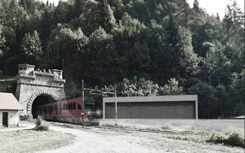 Železniški predor Karavanke pred začetkom prenove