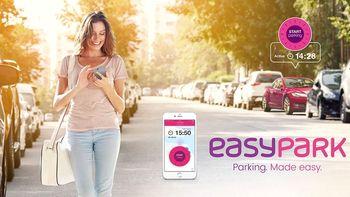 Plačevanje parkirnine z mobilno aplikacijo EasyPark