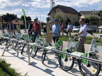 JeseNICE bikes v gorenjski kolesarski mreži
