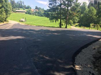 Rekonstrukcija ceste do Prežihove bajte