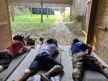 Tekmovanje strelcev z vojaško puško