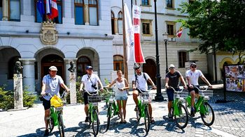 Novomeška kolesarska infrastruktura navdušila kolesarje iz Torunja