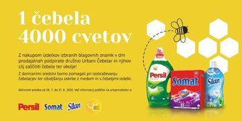 Henkel Slovenija in DM v podporo urbanočebelarskim projektom
